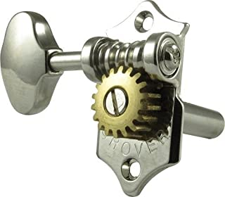 Grover H97-18N Sta-Tite Tuners, 18:1 Gear Ratio, 3-Per-Side, Horizontal, Nickel