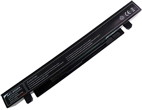 YASI MFG [14.4 V 2600 mAh] A41-X550A ASUS Batería para portátil ASUS X450CA X450EA X550 X550C X550D X552 F550C R510CA portátil Batería