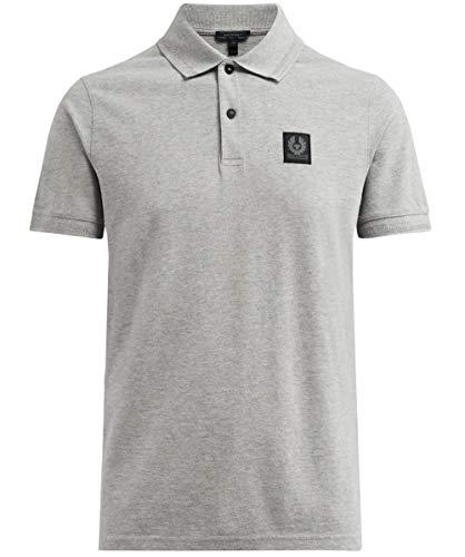 Belstaff Stannett Poloshirt SMALL Grey