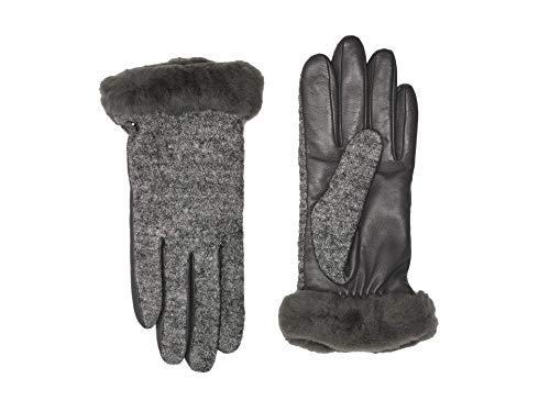 Guantes de Piel Jamisa by UGG guantesguantes mujer (M - negro)
