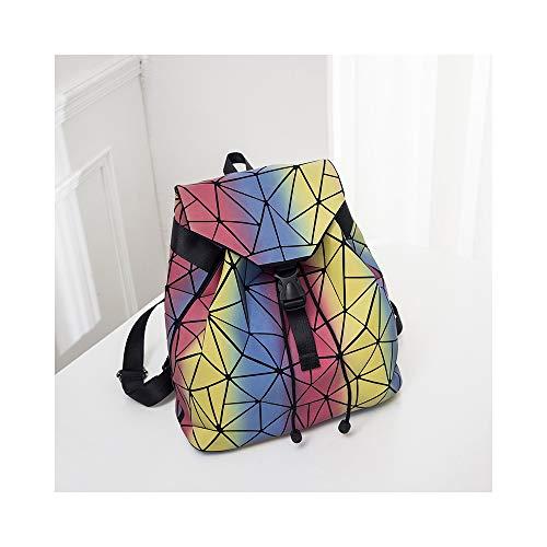 NFGHK Zaino da Viaggio antifurto Impermeabile per Laptop, Borsa per Laptop Casual per Uomo e Donna Nera,colour6