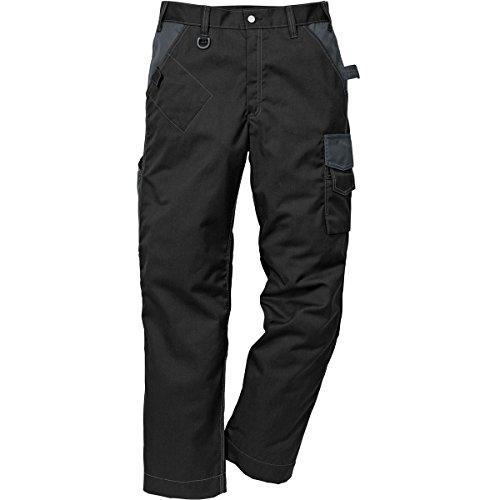 Fristads 114103 Kansas Workwear Arbeitshose Gr. 32 cm, schwarz / grau