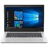 "Lenovo IdeaPad 130S-14IGM 14"" Notebook, Intel Celeron N4000, 4GB RAM, 64GB Flash Memory, Windows 10 Home (81KU000FUS) (Renewed)"