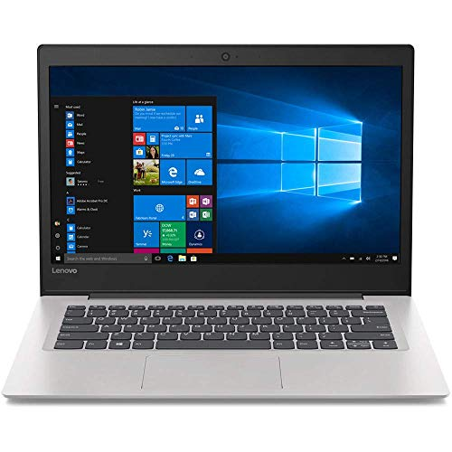 "Lenovo IdeaPad 130S-14IGM 14"" Notebook, Intel Celeron N4000, 4GB RAM, 64GB Flash Memory, Windows 10 Home (81KU000FUS) (Renewed)"