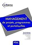 Management de projets, programmes et...