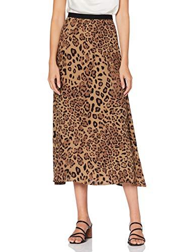 True Religion Damen Skirt Rock, Caramel Leo Big, L