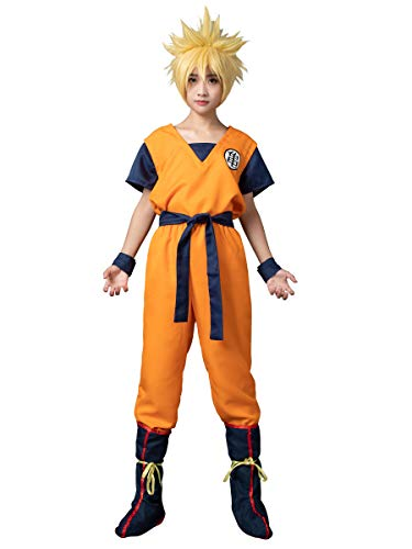CosFantasy Unisex Cosplay Son Goku Turtle SenRu Costume mp002565 (Men M(Bust: 107cm))