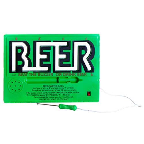 Monsterzeug Trinkspiel Heißer Draht, Bier Trinkspiel, Geschicklichkeitsspiel, Party Trinkspiel für Erwachsene, Bier Gadget, Partyspiel