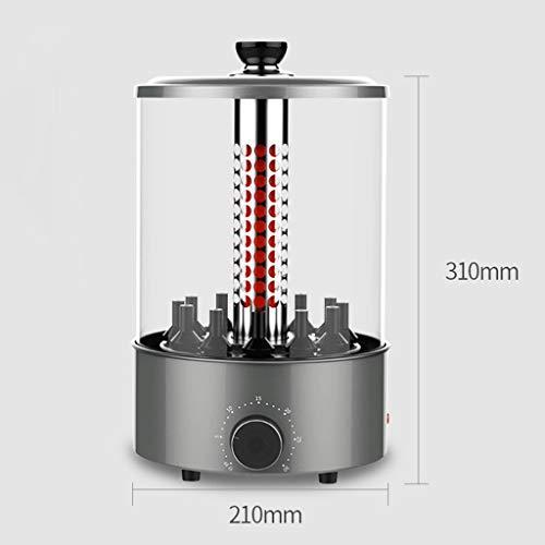 41DJOLVDusL - WZHZJ Haushaltsrauchfreie Automatische Rotating Grillspieße, Lammspieße Grill/Barbecue-Maschine
