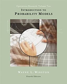 Introduction to Probability Models : Operations Research, Volume II (with CD-ROM and InfoTrac®): Operations research (with...