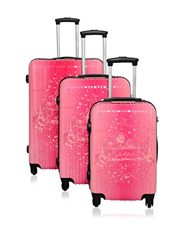 Lollipops, Set de Bagages Rose Rose