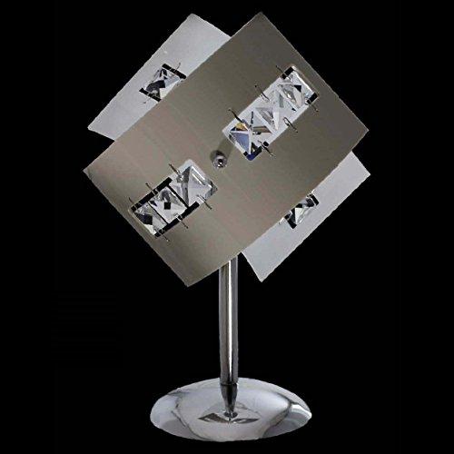 Europrimo Abat Jour lume Lampada Moderna in Cristallo e plexiglass colorato 1 Luce per Camera da Letto