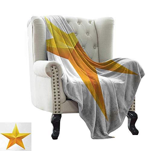 Manta de piscina amarilla, líneas curvas sombreadas y motivos giratorios, estilo decorativo para la vida, amarillo para cama y sofá de fácil cuidado., poliéster, color 12, 60'x70' Inch