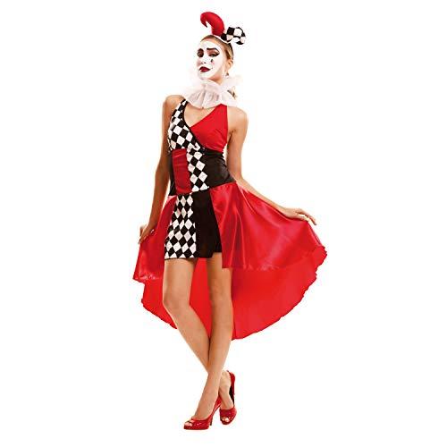 My Other Me–Sexy Harlekin Kostüm für Damen (viving Costumes) M-L