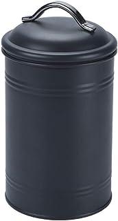 Leilims Joint métallique Boîte de Rangement de Cuisine Café Sucre Thé Jars Croquettes céréales Tri Conteneur Nordique Snac...