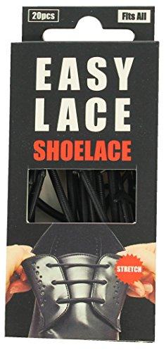 Easy Lace Round-Boxed, Zapatos Accesorios Unisex Adulto, Negro (Black 105), Talla Unica...