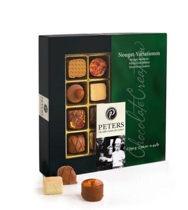 Peters Nougat Variationen - 200 g Pralinen mit Nougat