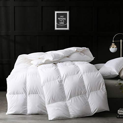 APSMILE Ultra-Soft Cotton Down Comforter Duvet Queen - All...