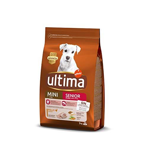 ultima Pienso para Perros Mini Senior con Pollo - 3 kg