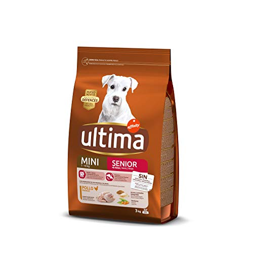 Ultima Cibo per Cani Mini Senior con Pollo - 3 kg