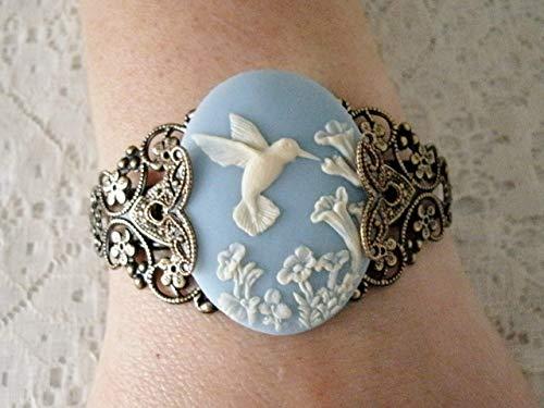 Hummingbird Cuff Bracelet