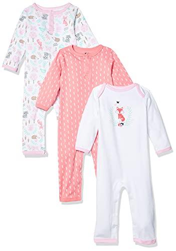 Hudson Baby Combinaison unisexe en coton pour bébé - blanc - 9-12 mois