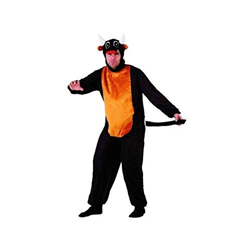 Atosa - Disfraz de toro para adulto, talla M/L (111-69631)