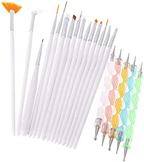 20pcs Nail Art Dotting Tools Set,Nail Art Brushes