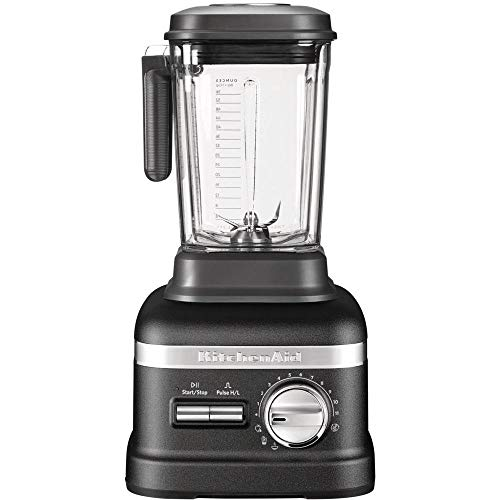 KitchenAid 5KSB8270EBK, Artisan Power Plus Blender/Standmixer, Gusseisen Schwarz