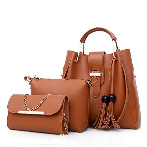 Fashion size multi-layer large capacity tassel shoulder bag messenger bag