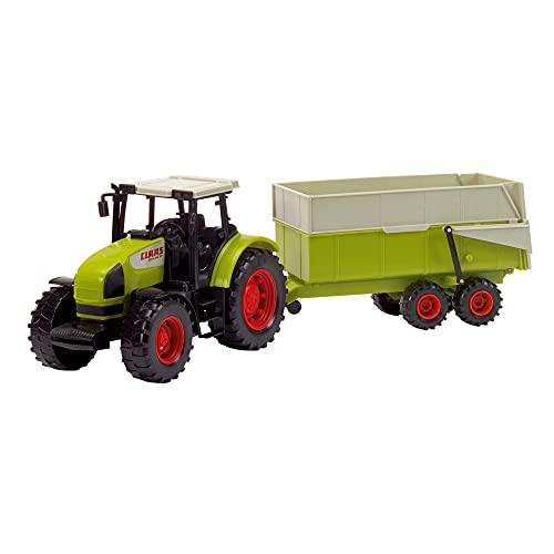 Dickie Toys CLAAS Ares Set, großer Traktor mit...