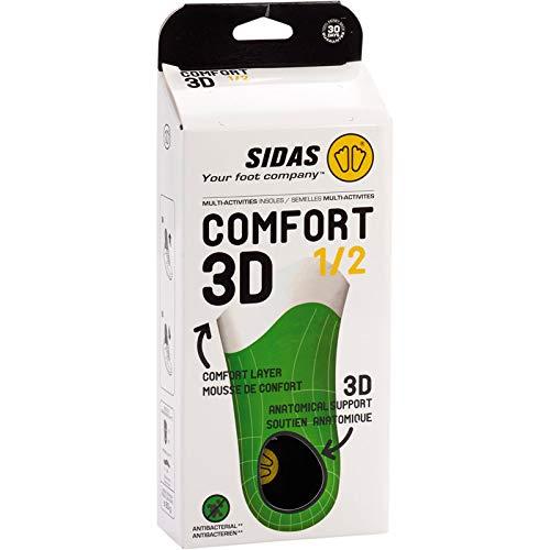 Sidas Comfort 1/2 3D Insoles/Sports Various Colours (Multi-Colour),42 EU