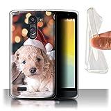 Stuff4® Gel TPU Hülle/Case für LG L Bello/D331 / Netter