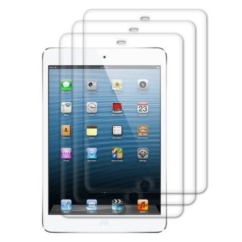 kwmobile 3X Schutzfolie kompatibel mit Apple iPad Air/Air 2 - Folie klar Full Screen Tablet