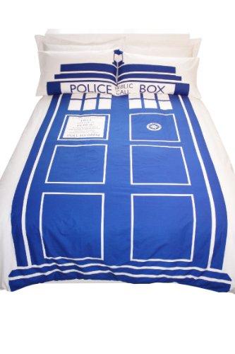 Doctor Who - Juego de Cama (tamaño King), diseño con Cabina Tardis