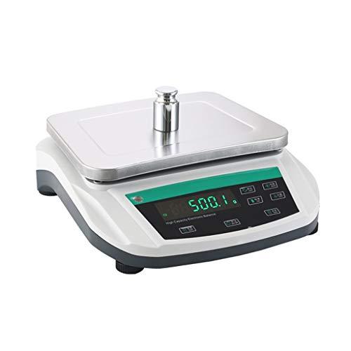 LYC Electrónica Báscula Digital De Alta Precisión De Lab Joyería Báscula Balanza Análitica De Laboratorio Científica 0.1g para La Agricultura, La Industria, El Experimento,la Química. d