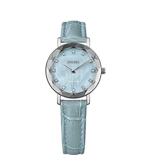 Jowissa Aura Schweizer Damenuhr J5.642.S Blau/Silber