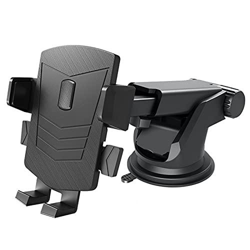 ASDFGHJKL Mini Navegación Multifuncional para Automóvil, Ventosa Giratoria para Automóvil, Soporte Giratorio Ajustable para Teléfono Móvil,B