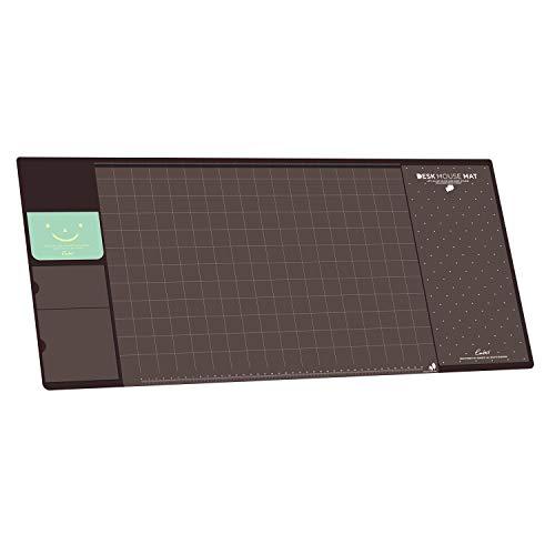 Befitery Schreibtischunterlage Multifunktions Schreibtisch Matte Pad Tischmatte Kreativ Computer Laptop Mausunterlage Schreibunterlage (Braun)