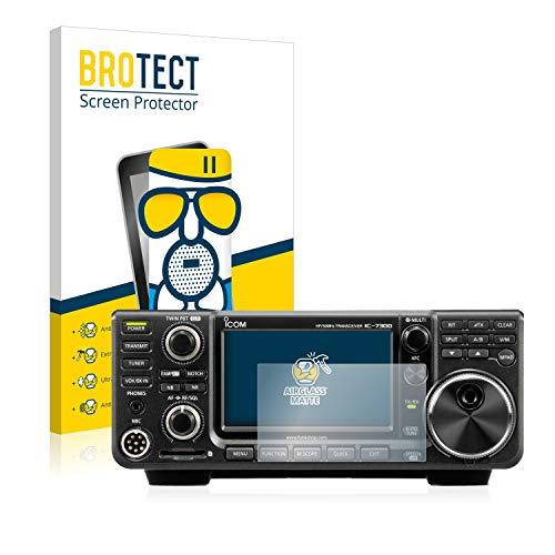 Preisvergleich Produktbild BROTECT Entspiegelungs-Panzerglasfolie kompatibel mit Icom IC-705 - Anti-Reflex Panzerglas Schutz-Folie Matt