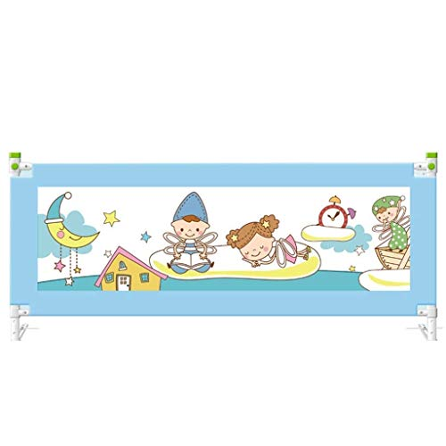 Find Bargain GENDA Child Guardrail Bed Fence Vertical Lifting Baby Bed Guardrail Crib Fence Children...