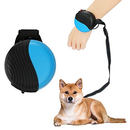 yidenguk Hundeleine Rollleine,360 ° Hände frei Handgelenk Hundeleine One Button Brake Hochleistungs-Hundekabel mit 2,5 m starkem Nylonband für kleine oder mittlere Hunde oder Katzen bis zu 30 kg