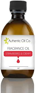 Strawberries & cream fragrance oil concentrate 100ml for soap bath bombs and candles cosmetics.