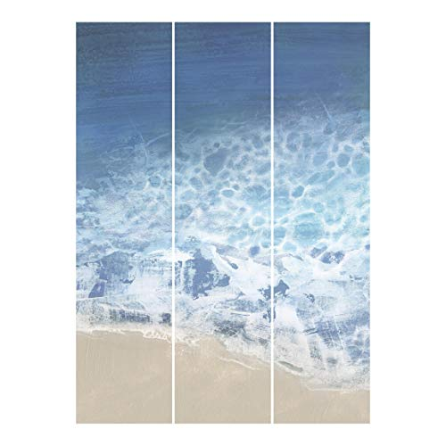 Bilderwelten Cortinas Deslizables Impresa 3 Paneles japoneses Tides In Color II Montaje de Pared 250 x 180cm