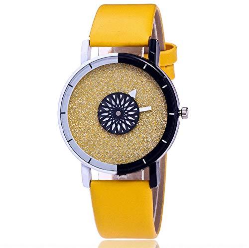 Uhren Damen Armbanduhr Sportuhr Frauen Casual Quartz Lederband Neu Strap Uhr Analoge Armbanduhr Klassisch Uhr Mode Uhrenarmband,ABsoar