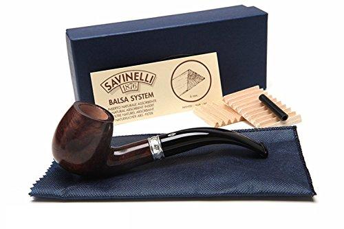 Savinelli - Pipas italianas para ahumar tabaco, Trevi Smooth 602