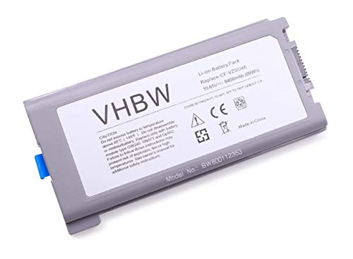 vhbw Li-Ion Akku 8400mAh (10.65V) passend für Notebook Laptop Panasonic Toughbook CF-30, CF-31, CF-53