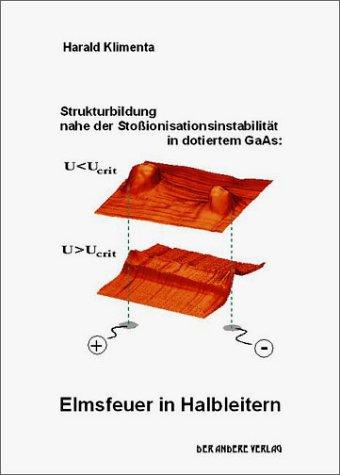 Strukturbildung nahe der Stoßionisationsinstabilität in dotiertem GaAs: Elmsfeuer in Halbleitern
