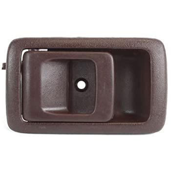 Make Auto Parts Manufacturing Front Driver Side Interior Door Handle Oak Brown For Toyota Tacoma 1995-2000 - TO1352129
