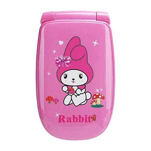 ciciglow Teléfono móvil de Doble Modo de Espera con Doble Tarjeta y botón pulsador Lindo portátil, teléfono móvil multilingüe para niños, Mini teléfono móvil de Larga duración de batería (Rosa)